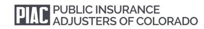 Public Insurance Adjusters of Colorado Logo